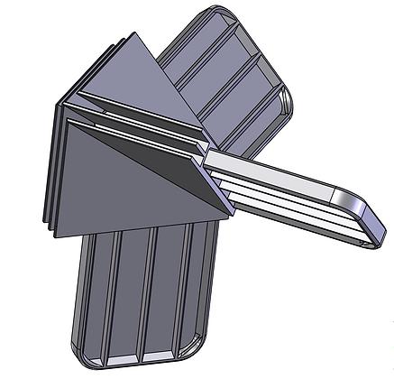 Tool-free Tridi Corner