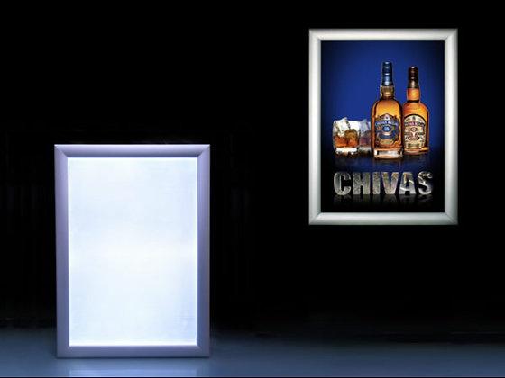 2.5cm Round Edge Snap LED Panel