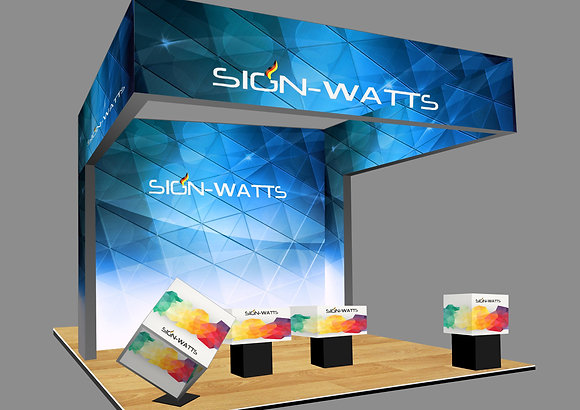 6*6 Booth Design