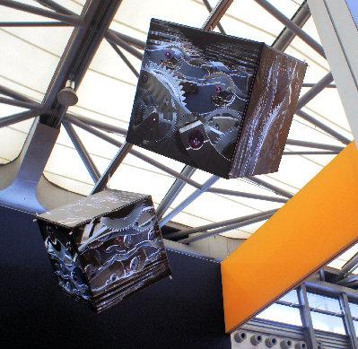 Hanging Display Cubes