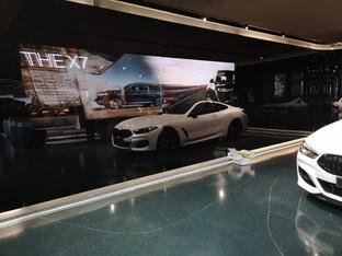 P2.5 BMW showroom LED wall