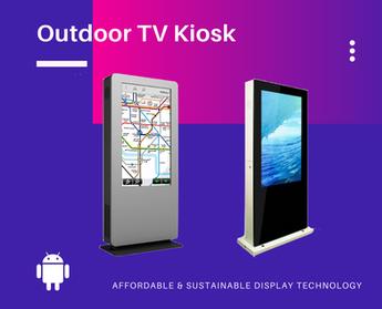 Outdoor Digital TV Kiosk