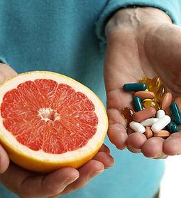Grapefruit und Vitamine