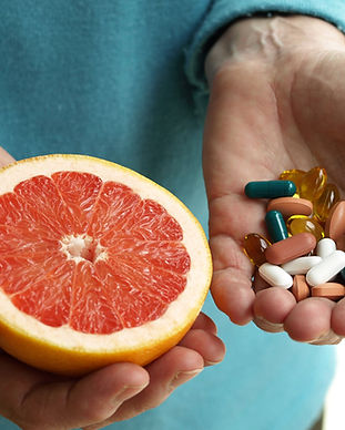 Pamplemousse et vitamines