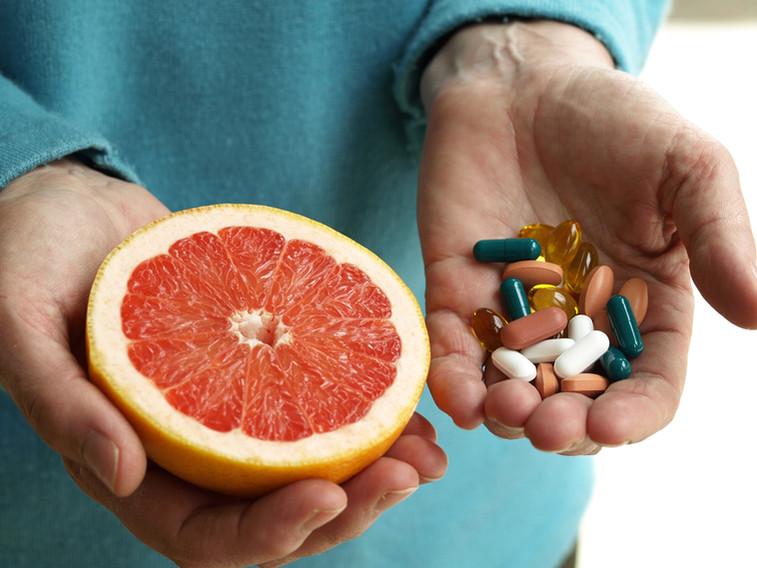 Grapefrugt og Vitaminer