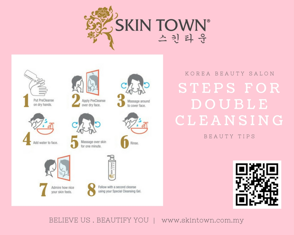 Beauty Tips :   Double Cleansing