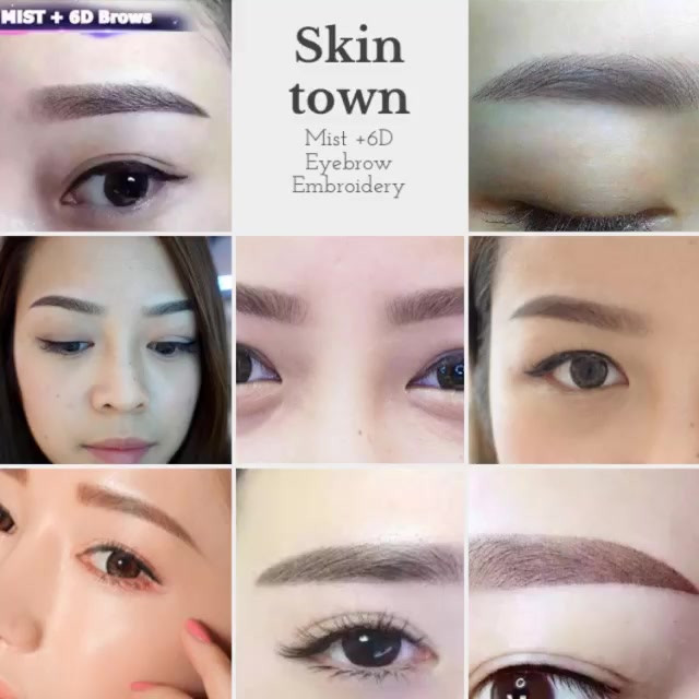 Skintown Eyebrow Embroidery