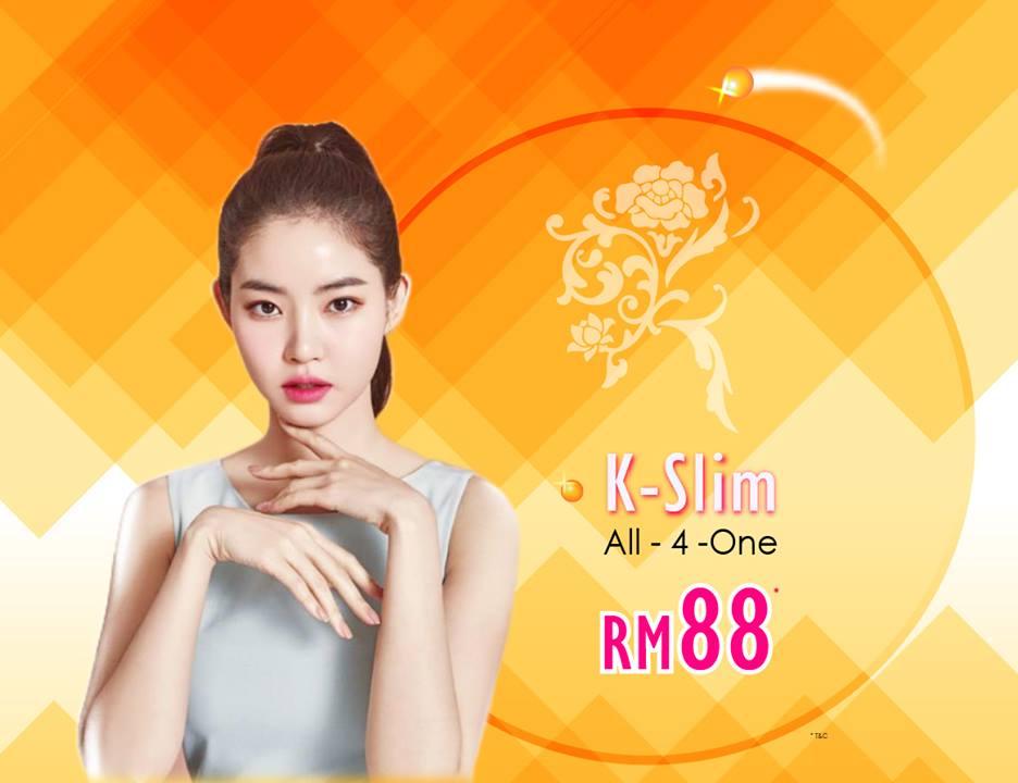 SKIN TOWN : K-SLIM HIFU All-4-One Trial RM88*