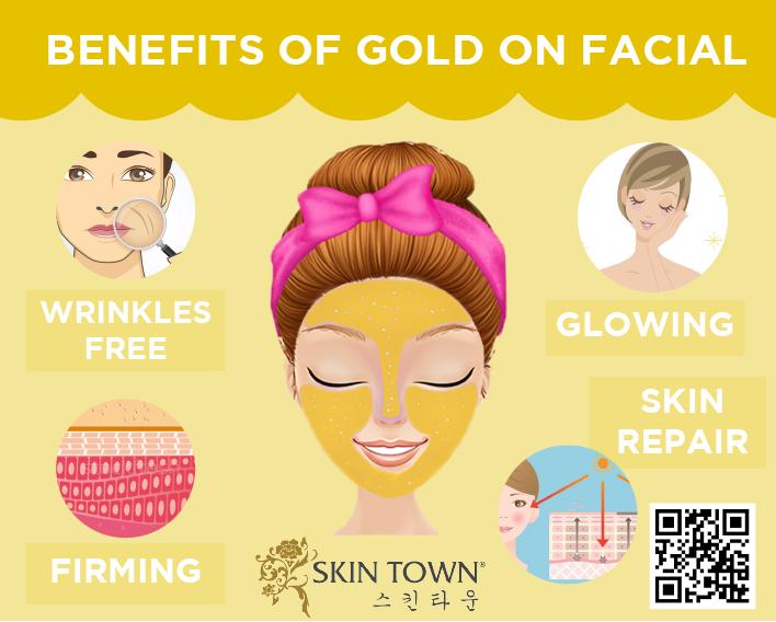 Beauty Tips : GOLD Facial Benefits