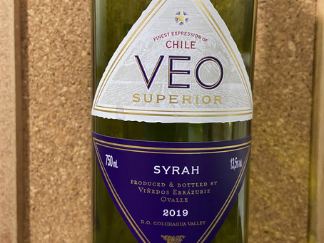 VEO SUPERIOR SYRAH 2016 – COLCHAGUA VALLEY - CHILE
