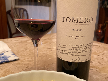 TOMERO MALBEC 2017 - MENDOZA - ARGENTINA