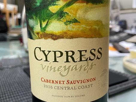 CYPRESS VINEYARDS CABERNET SAUVIGNON 2016 – CENTRAL COAST – CALIFÓRNIA – ESTADOS UNIDOS