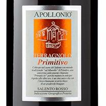 APOLLONIO TERRAGNOLO PRIMITIVO SALENTO ROSSO 2011– PUGLIA - ITÁLIA