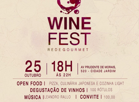 WINE FEST REDE GOURMET