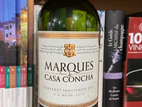 MARQUES DE CASA CONCHA CABERNET SAUVIGNON 2017 CONCHA Y TORO – VALE DO MAIPO – CHILE