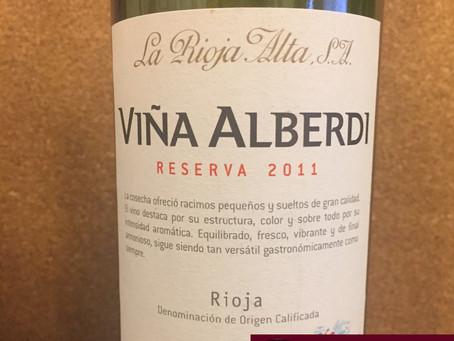 VIÑA ALBERDI RESERVA 2011 – LA RIOJA ALTA - ESPANHA