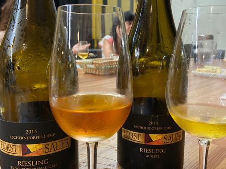HORST SAUER RIESLING 2015 – FRANCONIA - ALEMANHA