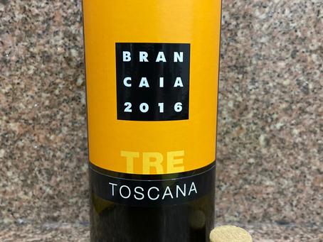 BRANCAIA TRE ROSSO TOSCANO 2016 – TOSCANA - ITÁLIA
