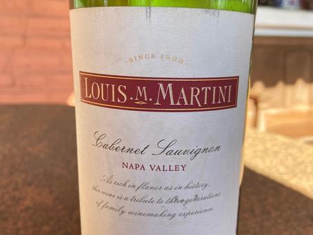 LOUIS MARTINI CABERNET SAUVIGNON 2011 – SONOMA/ NAPA VALLEY – CALIFÓRNIA – ESTADOS UNIDOS