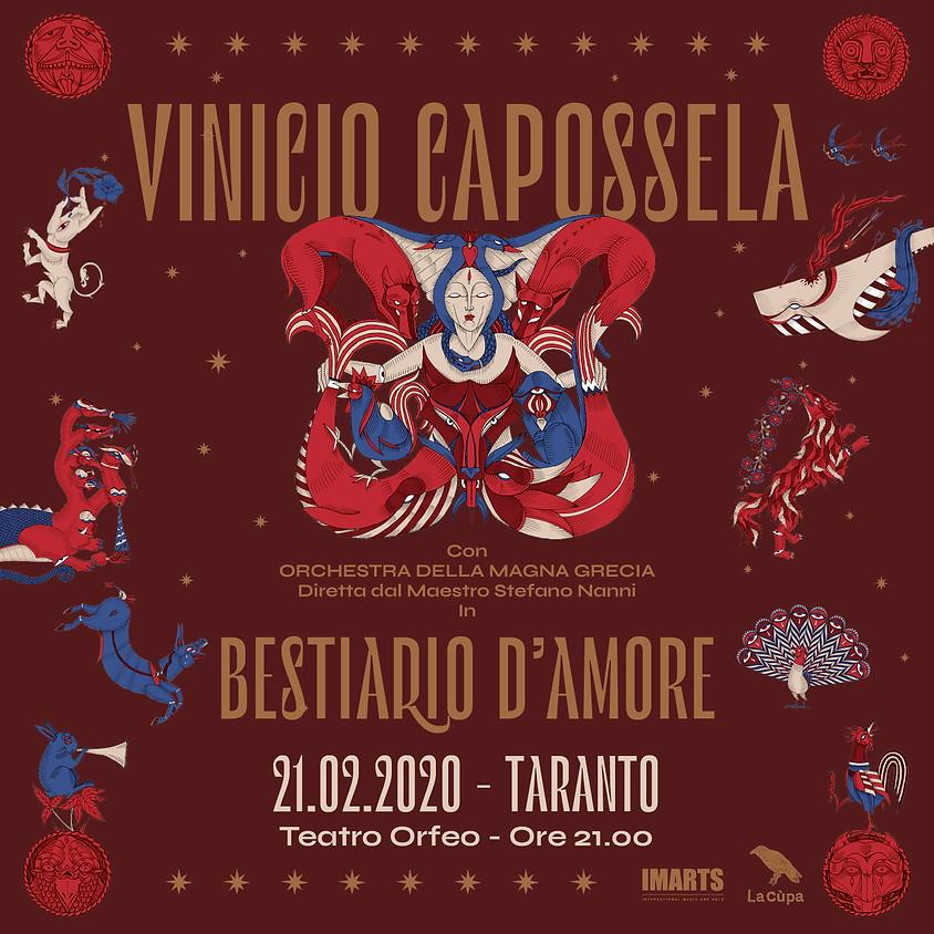BESTIARIO D'AMORE con ORCHESTRA MAGNA GRECIA / Taranto