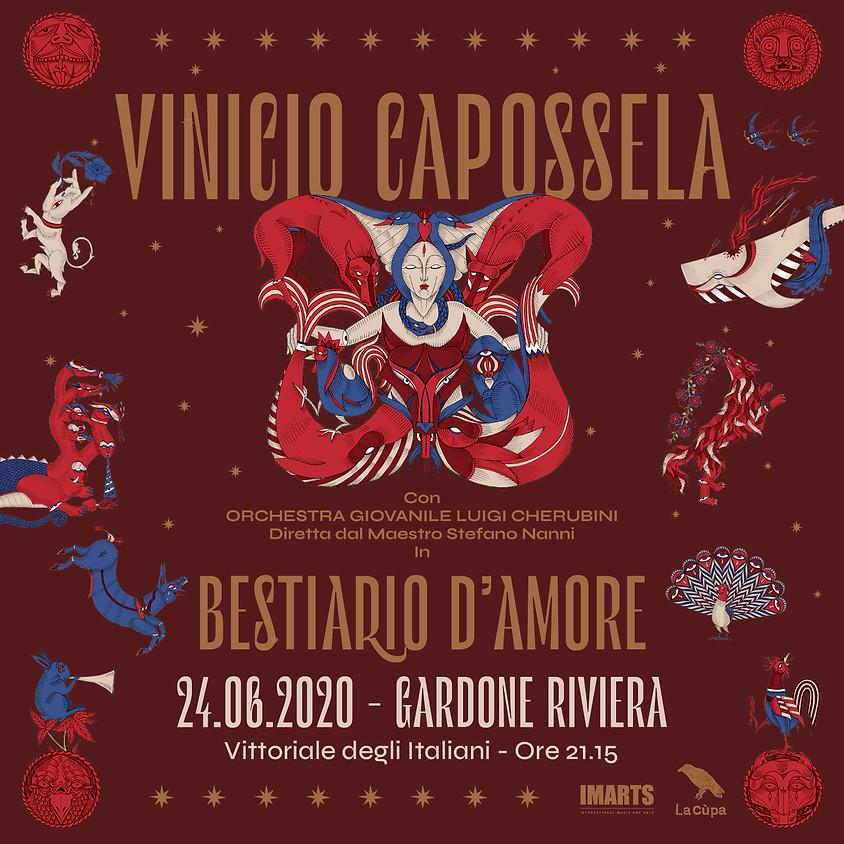 [Rinviato] BESTIARIO D'AMORE con ORCHESTRA LUIGI CHERUBINI / Gardone Riviera