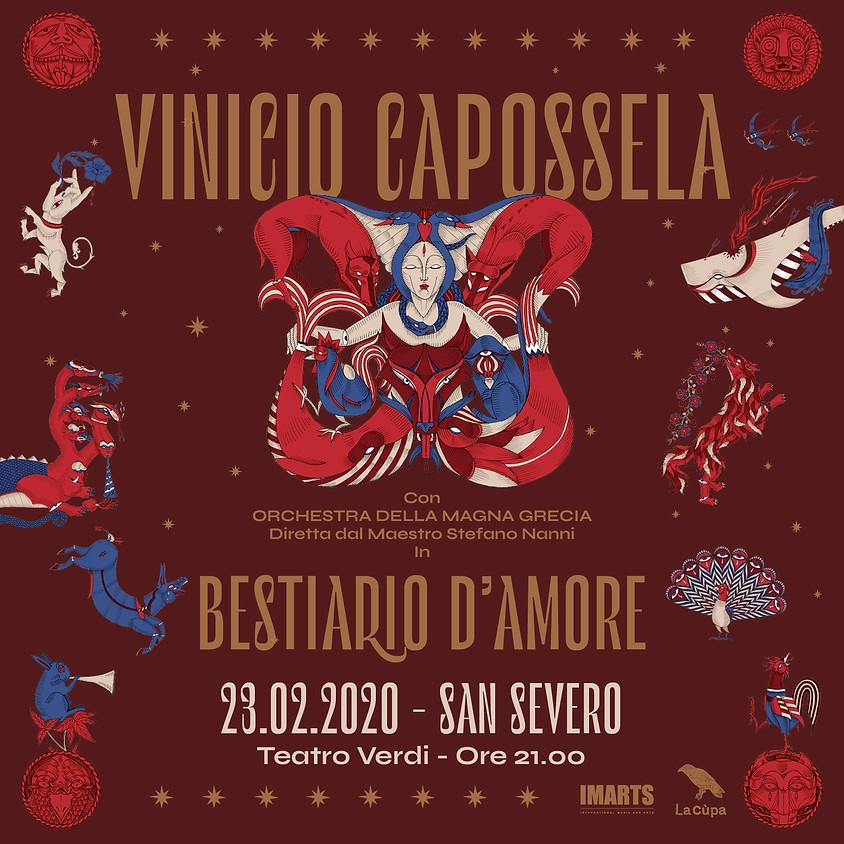 BESTIARIO D'AMORE con ORCHESTRA MAGNA GRECIA / San Severo