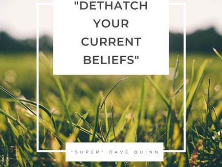 Dethatch Your Beliefs