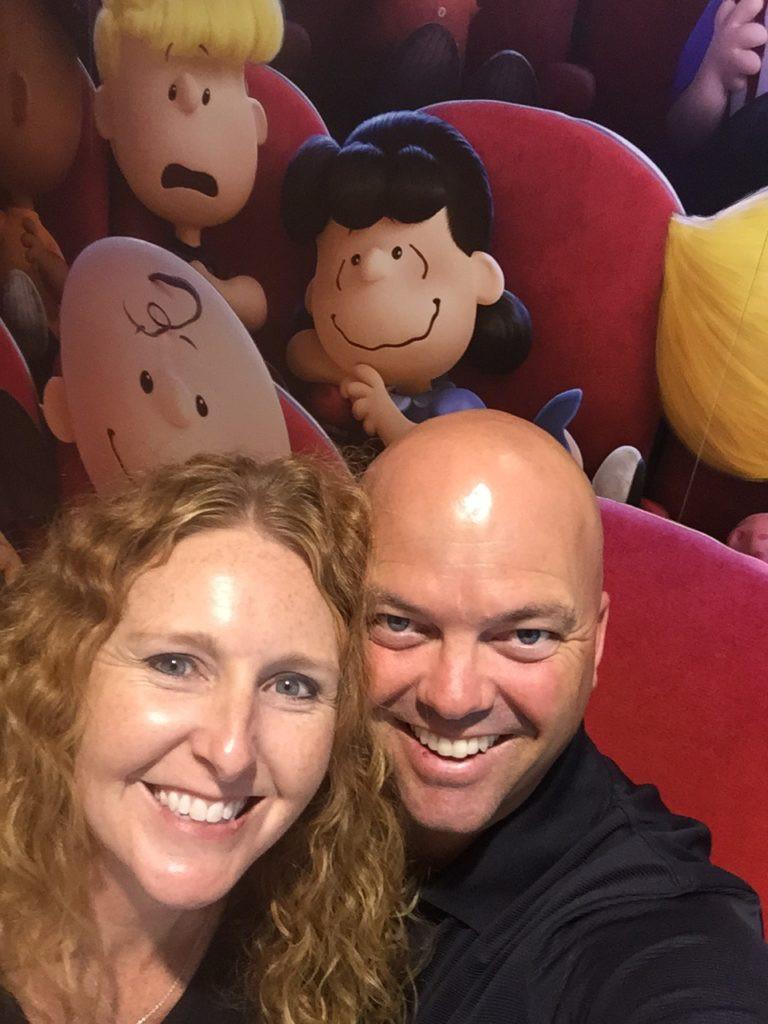 Kimbra and Dave at the Movies