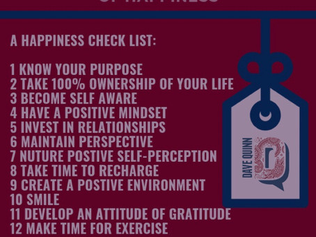 Give Yourself the Gift of Happiness