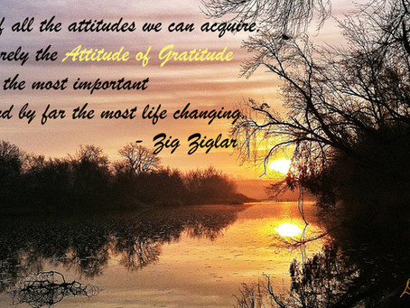 Give Yourself the Gift of Happiness - Develop an Attitude of Gratitude