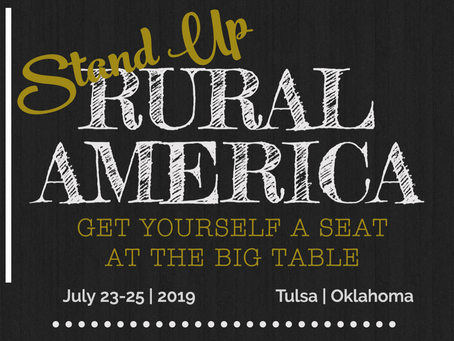 Inspiring Rural America: National Rural Economic Development Summit Announced For Summer 2019