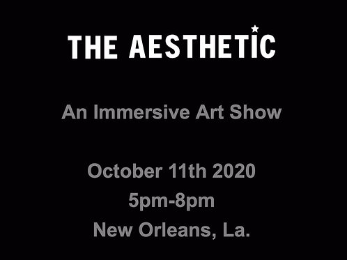 The AESTHETIC Show Ticket