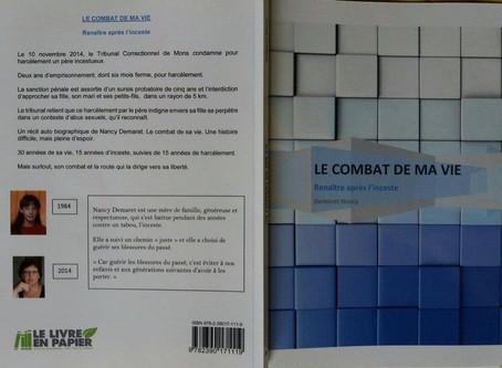 RÉCIT AUTO-BIOGRAPHIQUE « LE COMBAT DE MA VIE – RENAÎTRE APRÈS L'INCESTE »