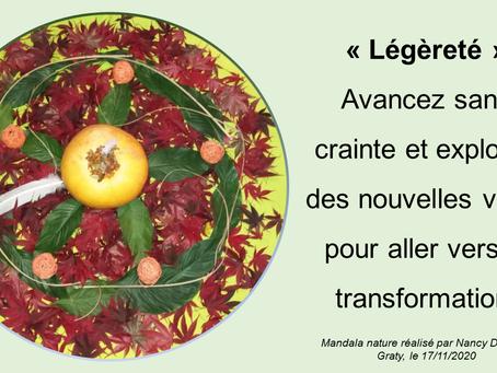 "MANDALA NATURE ""LÉGÈRETÉ"""