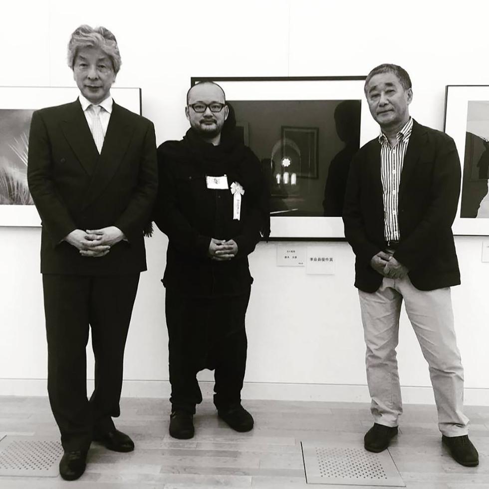 美術史家本江邦夫先生に学び、「国画会」新会員へ。