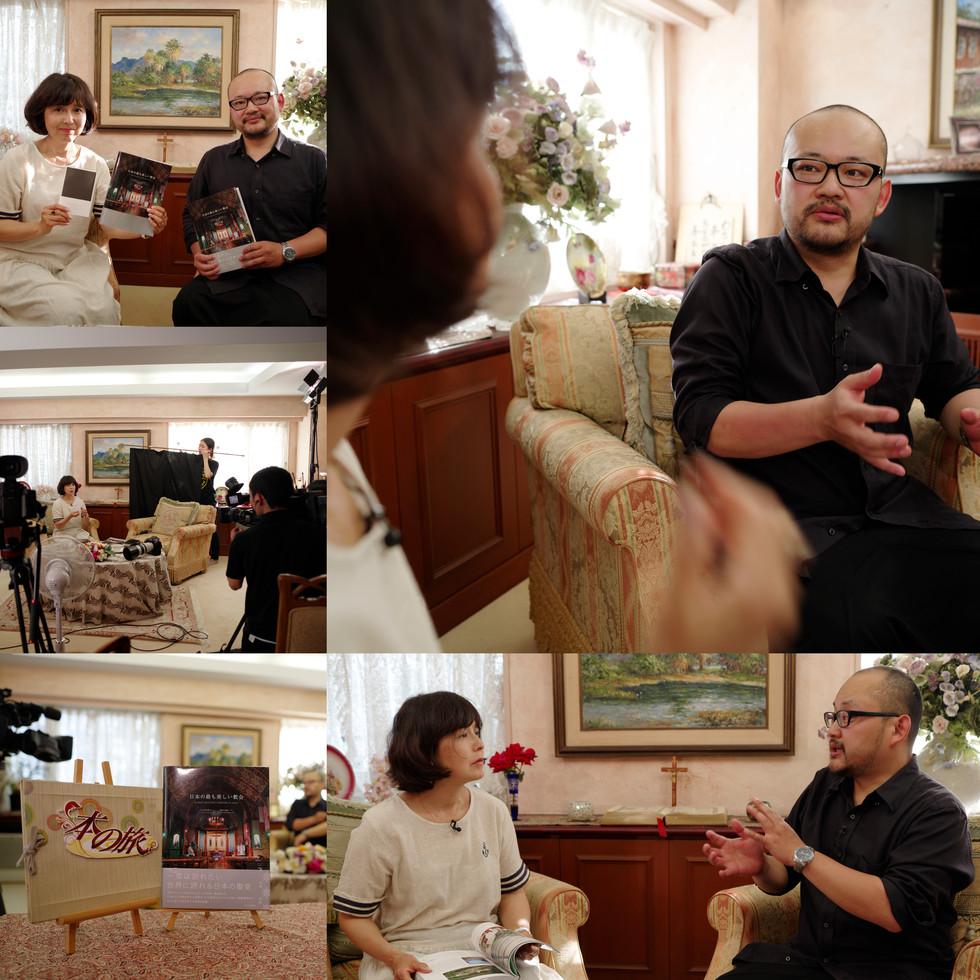「異邦人」で有名な久保田早紀さんとの対談番組に出演致しました!