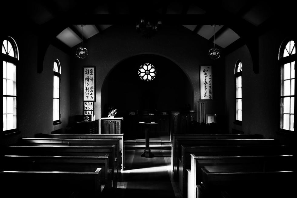 内なる光による救い(ヴォーリズ記念病院・礼拝堂、五葉館)