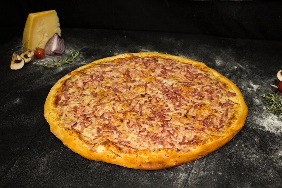 פיצה ששת פפרוני , בייקון