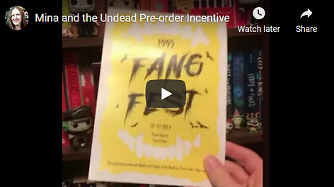 Preorder incentive Mina and the Undead.p