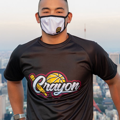 Crayon Black & Gold T-Shirt