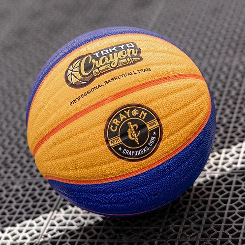 OFFICIAL FIBA 3x3 CRAYON CUSTOM BASKETBALL