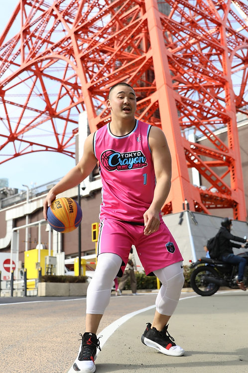 "Ryan Tana ""Roppongi Nights"" Reversible Pink/Black Jersey"