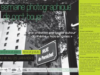 """Semaine Photographique du Port-Boyer sur le thème """"Nos origines"""""""
