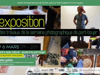 Soirée-exposition de la Semaine Photographique du Port-Boyer