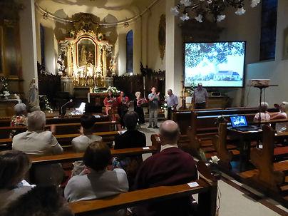 2015.06  - Konzert in der Kirche von Sai