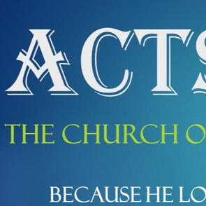 Acts Sunday AM Bible Study