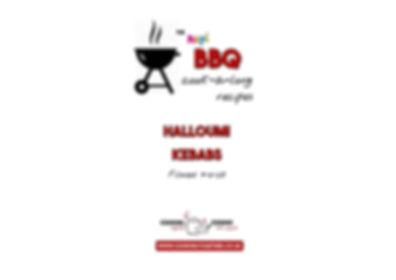 BBQ COOKALONG LIVE - HALLOUMI KEBABS int