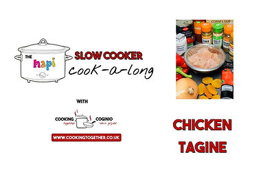 SLOW COOKER COOKALONG - CHICKEN TAGINE I