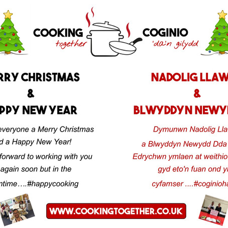 Another Busy Year at Cooking Together!