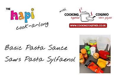 HAPI COOKALONG INTRO PAGE - pasta sauce.